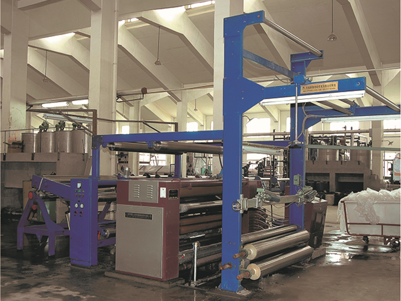 Cold dyeing machine